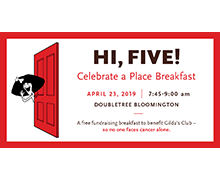 Celebrate a Place Breakfast | April 23, 2019